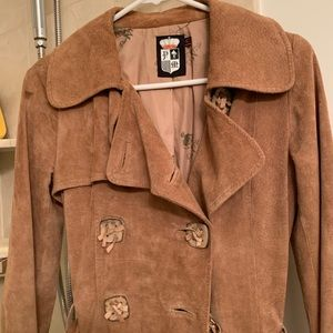 Jackets & Blazers - Suede trench part 2